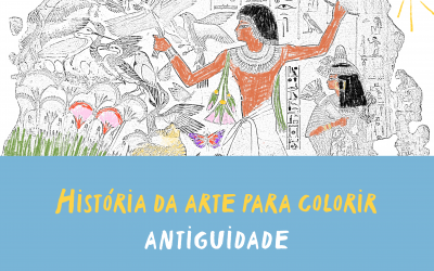 História da arte para colorir – Antiguidade